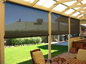 outside blinds for deck outdoor blinds carpenter builder decks pergolas shadesails