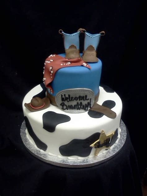 western baby shower cake discover and save creative ideas