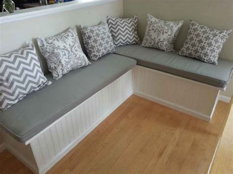 how to make bench cushion custom cushion sewn banquette seat bench cushion with