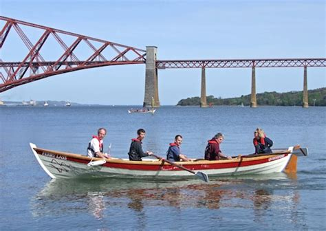 queensferry boat queensferry rowing club launch their boat the edinburgh