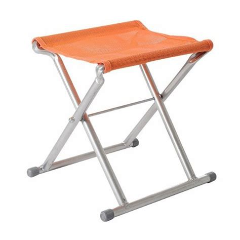Folding Stool Outdoor by Portable Mesh Steel Folding Stool Travel Chair Outdoor