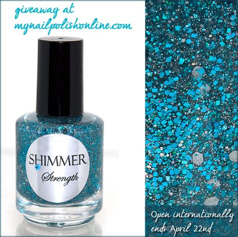 Giveaway Strength - giveaway shimmer strength my nail polish online