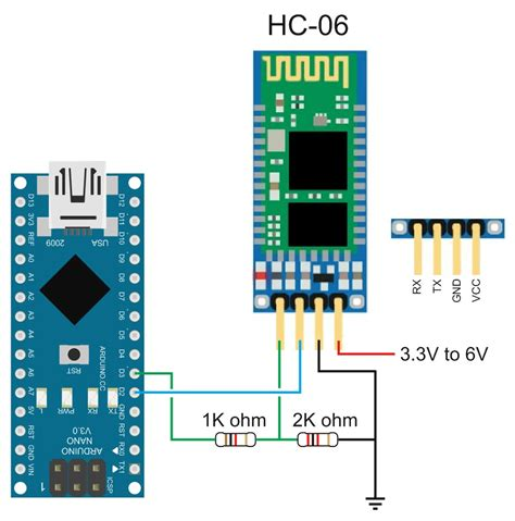 tutorial arduino nano uno and bluetooth hc06 at commands