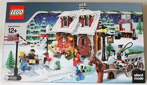 Post Office 10199 by Review 10216 Winter Bakery Lego Town