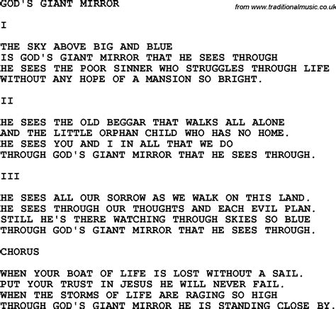 God Is In The Room Lyrics by Mirrors Lyrics Room Ornament