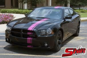 charger pink mopar stripe shift designs