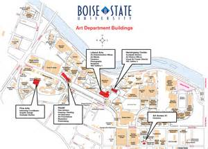 Boise State Map boise state university map pictures to pin on pinterest