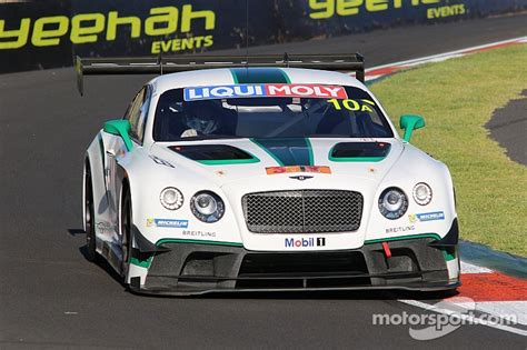 bentley bathurst bentley finishes fourth at bathurst in tense finish