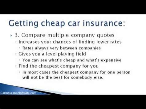 cheapest car insurance rates  ontario  cheap