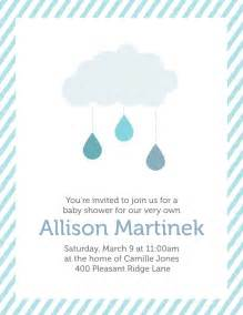 creatively baby shower invitation