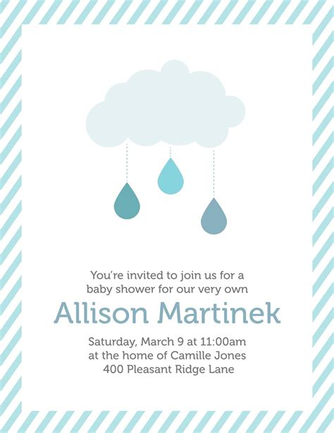 Baby Shower Invitations by Creatively Baby Shower Invitation