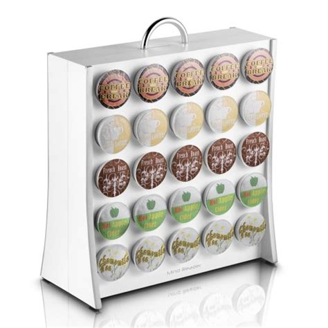 K Cup Wall Rack by Mind Reader The Wall 50 Capacity K Cup Coffee Pod Display