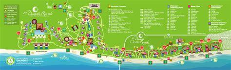 dorado resort map patty and sharif s wedding