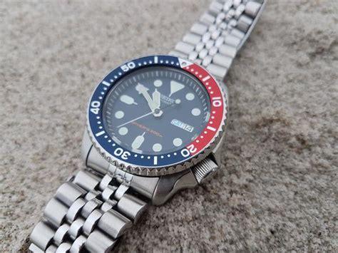 Seiko Diver Skx009 Bracelet review seiko skx009 quot pepsi diver quot change