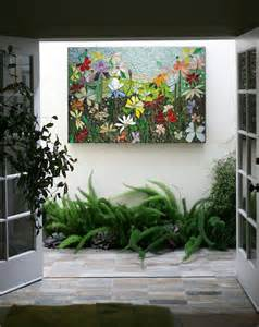 Patio Wall Decorations by 25 Best Ideas About Mosaic Wall Art On Pinterest Mosaic