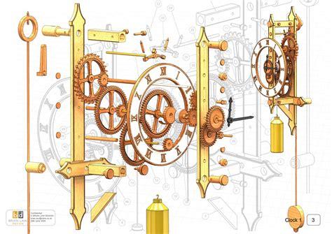 build plans wooden clock plans dxf  wooden wooden rack