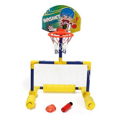 H Setelan Kid 2in1 2in1 swimming pool football basketball toys outdoor dual purpose water intl lazada
