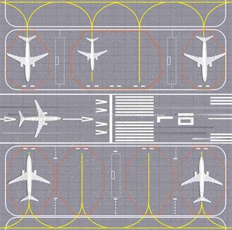 layout of airport ppt airport layout by emukhin graphicriver