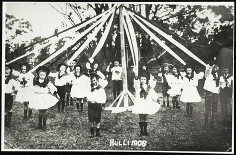 State Archives Records Bulli School Maypole State Archives And Records Nsw