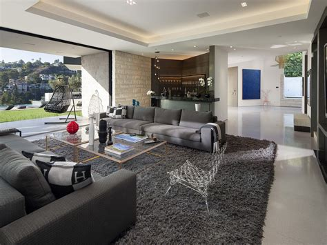 in ex luxury home by studio in ex living area