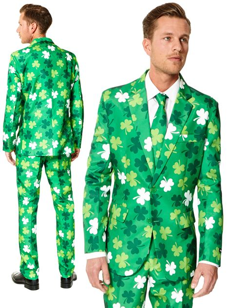 what was the original color of st day mens st patricks day suitmeister adults suit