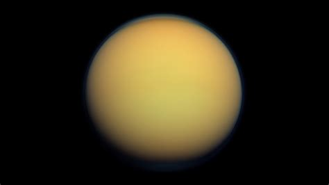 saturns largest moons blue planet earth was once orange like titan
