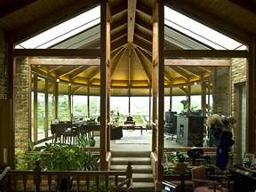 Shed Roof Screened Porch Our Indoor Atrium House Home Atrium Pinterest Arches