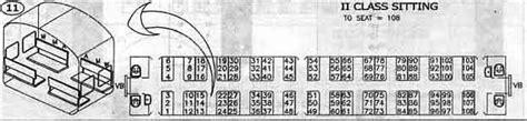 Sleeper Class Seat Arrangement by Shatabdi Seating Arrangement