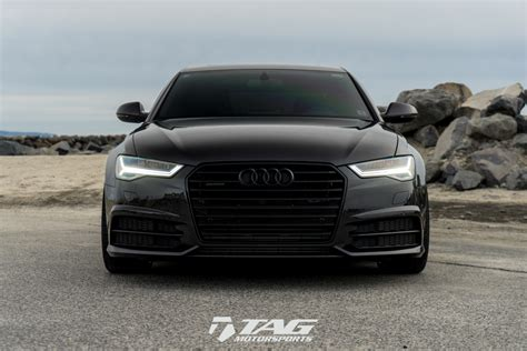 slammed audi a6 simple clean slammed 2017 a6 2 0t on 21 quot vossen vfs2