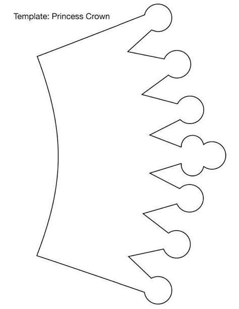 coronas para imprimir molde de corona de princesa en foamy imagui