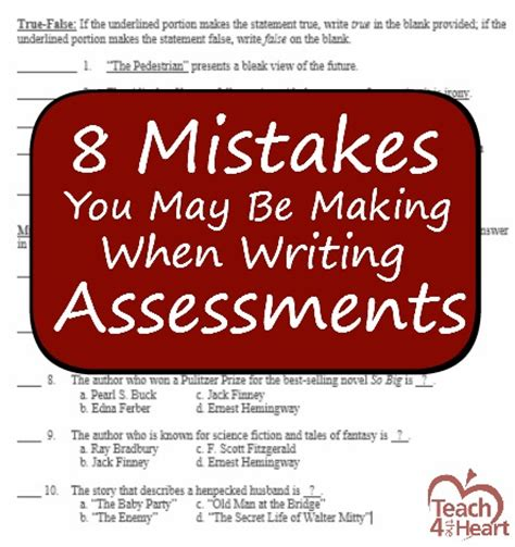 8 Mistakes Make When 8 mistakes you may be when writing tests