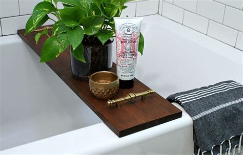 Diy Bathroom Designs Diy Bathtub Tray Designs Fun To Make And Great To Use