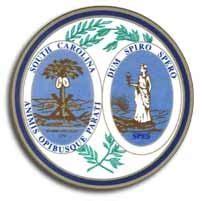 buy south carolina  state seal flagline