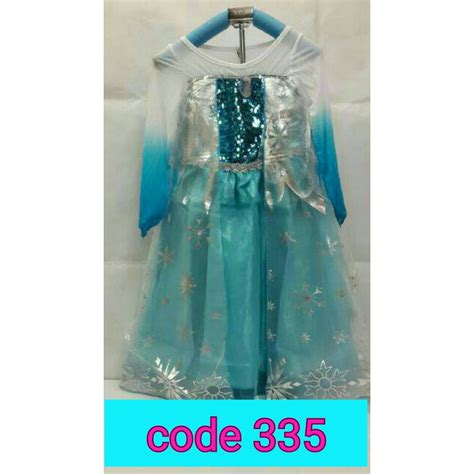 Supplier Baju Dress Hq jual baju kostum elsa frozen newhairstylesformen2014