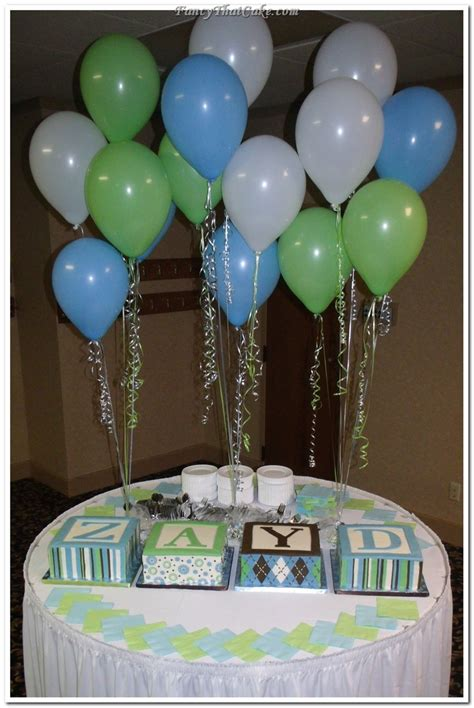 Green Baby Shower Decorations by 78 Images About Blue And Green Babyshower On