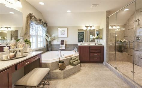 model home bathroom pictures  varities