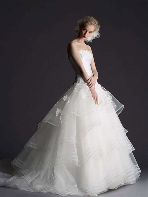 beautiful white wedding dresses beautiful white wedding gown dress collection by cymbeline