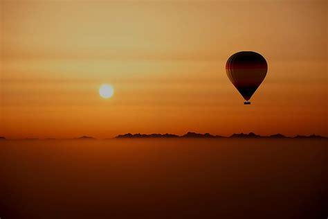 Air Baloon balloon breakfast safari with dubai s 1 tour company