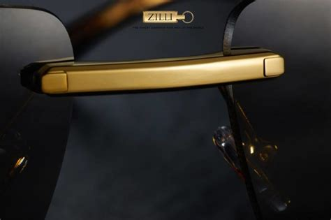 Kacamata Sunglass Pria Montblanc Georgo Set stylish solid gold quot flamel quot eyewear collection from zilli pursuits