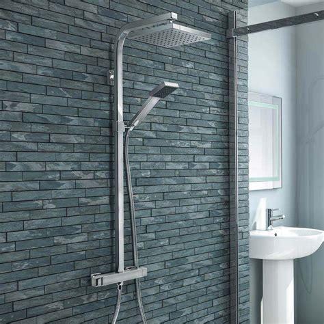 Shower Mandi Minimalis Handshower buy now milan modern chrome thermostatic shower
