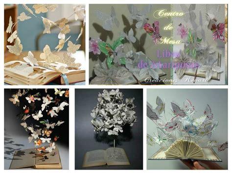 ideas de manualidades y centros de mesa con gomitas dulces cositasconmesh centro de mesa de mariposas con libros manualidades