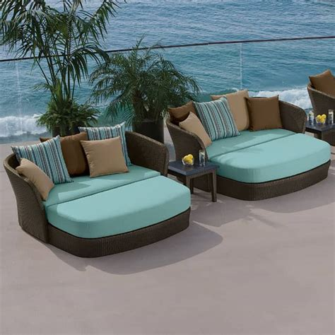 Elegant Outdoor Furniture For Stylish Terrace Design Pool And Patio Furniture