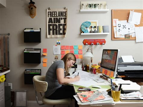 graphic designer at work office awe home design shocking