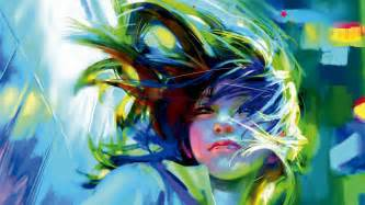 Wind Art 24 anime backgrounds wallpapers images pictures design trends