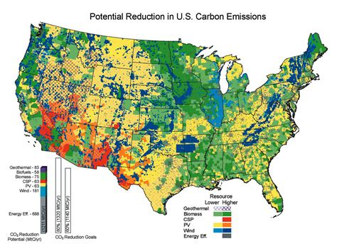 american energy map tackling climate change in the u s the sietch