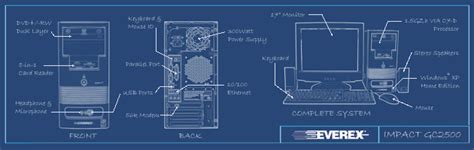 computer desk blueprint plant cell blueprint images