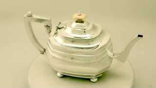 Ac 6353 Silver antique sterling silver teapot teaware for sale ac silver