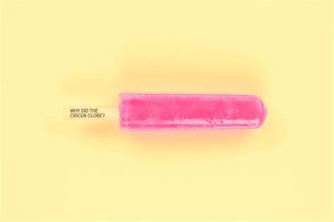Schadenfreezers, Yummy Popsicles Containing Truly Tasteless Jokes   Foodiggity