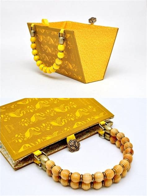diy book cover clutch and bag the perfect gift idea for
