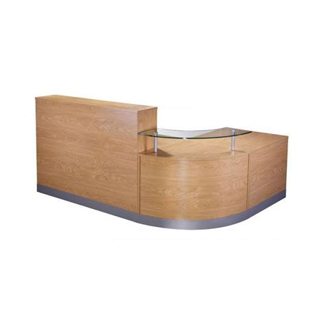 Curved Modular Reception Desk In A Choice Of Finish Curved Reception Desk Furniture